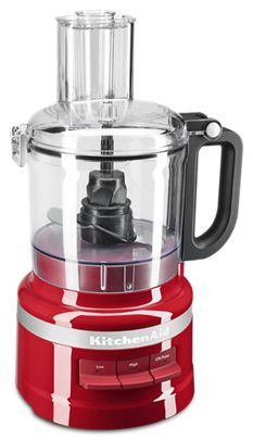 Empire Red 7 Cup Food Processor KFP0718ER | KitchenAid on kitchenaid waffle maker red, kitchenaid utensils red, kitchenaid chopper in red, kitchenaid candy apple red,