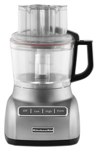 KitchenAid 9-Cup Wide Mouth Food Processor RR-KFP0930wh Large Exact Slice White