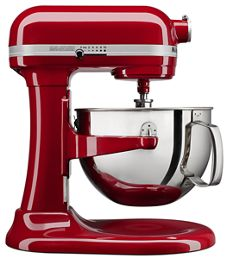 Empire Red 6 Quart Bowl Lift Stand Mixer Kl26m1xer Kitchenaid