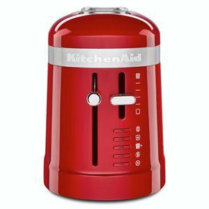 empire red 2 slice long slot toaster with high lift lever kmt3115er rh kitchenaid com
