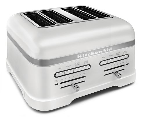 Frosted Pearl White Pro Line® Series 4-Slice Automatic Toaster ...