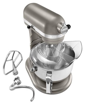 Cocoa Silver Pro 600™ Series 6 Quart Bowl-Lift Stand Mixer ... on
