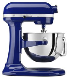 Cobalt Blue Pro 600 Series 6 Quart Bowl Lift Stand Mixer Kp26m1xbu