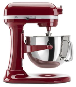 Beau Empire Red Pro 600™ Series 6 Quart Bowl Lift Stand Mixer KP26M1XER |  KitchenAid