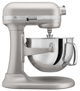 nickel pearl pro 600 series 6 quart bowl lift stand mixer kp26m1xnp rh kitchenaid com