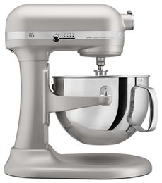 Nickel Pearl Pro 600 Series 6 Quart Bowl Lift Stand Mixer Kp26m1xnp