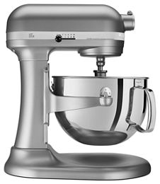 Silver Pro 600 Series 6 Quart Bowl Lift Stand Mixer Kp26m1xsl