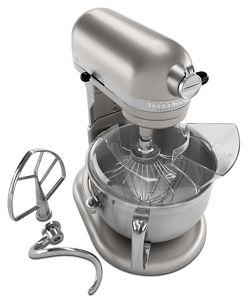 nickel pearl professional 610 bowl lift stand mixer kp26n9xnp rh kitchenaid com