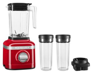 K150 3 Speed Ice Crushing Blender with 2 Personal Blender Jars