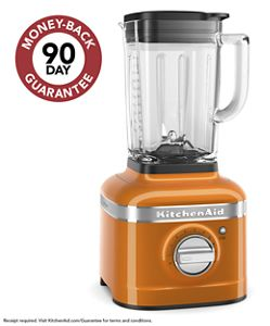 K400 Blender with Glass Jar in Honey
