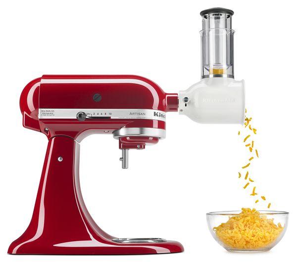 KitchenAid® Value Bundle Artisan® Series 5 Quart Tilt-Head Stand Mixer with Fresh Prep Slicer/Shredder Attachment