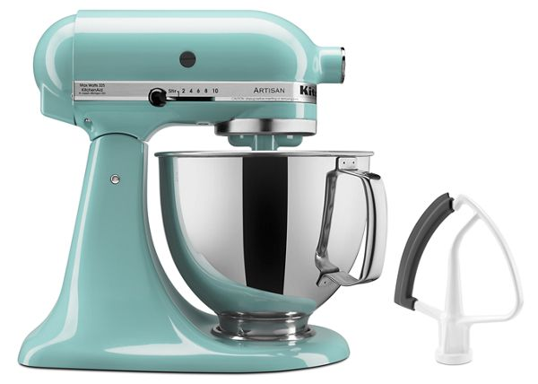 KitchenAid® Value Bundle Artisan® Series 5 Quart Tilt-Head Stand Mixer with Flex Edge Beater