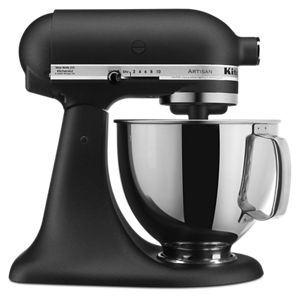 Imperial Black Artisan Series 4 8 L Tilt Head Stand Mixer 5ksm150psebk Kitchenaid
