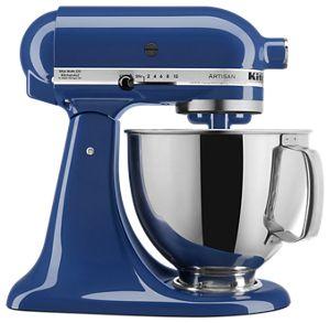 Exceptionnel Blue Willow Artisan® Series 5 Quart Tilt Head Stand Mixer KSM150PSBW    KitchenAid
