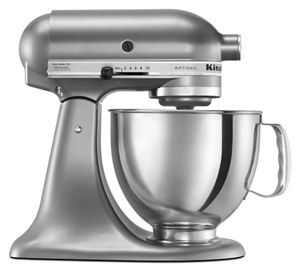Batidora Artisan de KitchenAid® 4.8 L - color plata