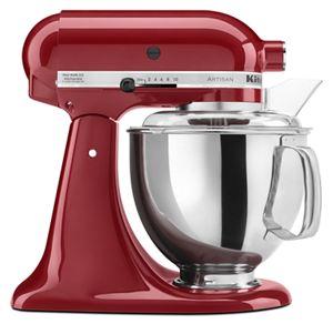 empire red artisan series 5 quart tilt head stand mixer ksm150pser rh kitchenaid com KitchenAid Mixers On Sale Vintage KitchenAid Mixer