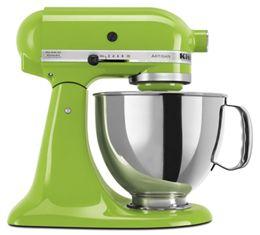 Green Apple Artisan Series 5 Quart Tilt Head Stand Mixer Ksm150psga