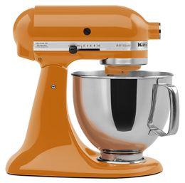 Tangerine Artisan® Series 5 Quart Tilt-Head Stand Mixer KSM150PSTG | KitchenAid
