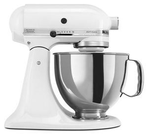 Batidora Artisan de KitchenAid® 4.8 L - color blanco