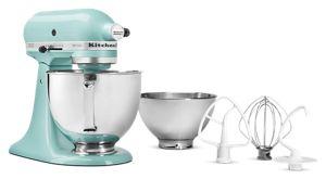 Artisan® Series 5 Quart Tilt-Head Stand Mixer with additional 3 Quart bowl