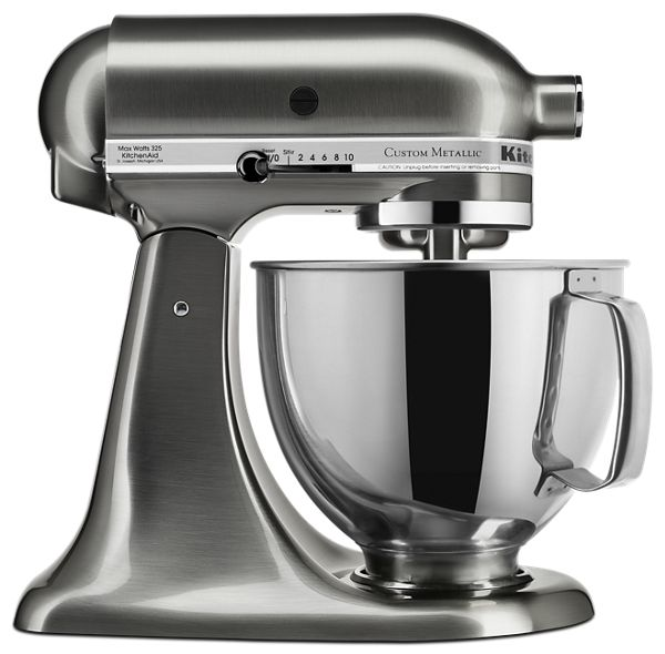 Custom Metallic® Series 5 Quart Tilt-Head Stand Mixer