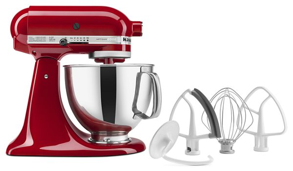 KitchenAid® Artisan® Series 5-Quart Tilt-Head Stand Mixer with Flex Edge Beater