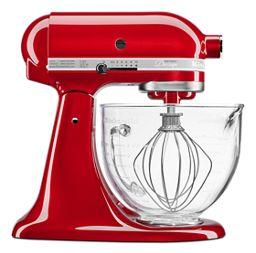 Candy Apple Red Artisan Design Series 5 Quart Tilt Head Stand Mixer