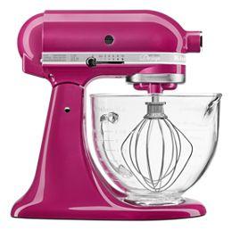 Artisan® Design Series 5 Quart Tilt-Head Stand Mixer with Glass Bowl