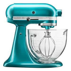 Artisan® Design Series 5 Quart Tilt-Head Stand Mixer with Glass Bowl