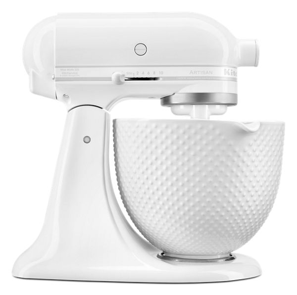 KitchenAid® Artisan® Series Tilt-Head Stand Mixer with 5 Quart Ceramic Hobnail Bowl