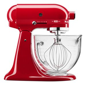 Numbered 100 Year Limited Edition Queen of Hearts 5 Quart Tilt-Head Stand Mixer