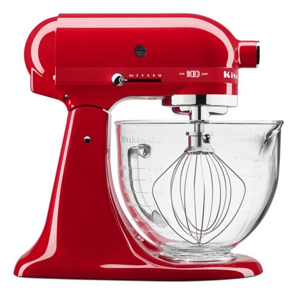 KitchenAid® Numbered 100 Year Limited Edition Queen of Hearts 5 Quart Tilt-Head Stand Mixer