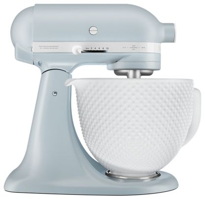 Misty Blue Limited Edition Heritage Artisan® Series Model K 5 Quart on kitchenaid mixer for extra bowls, kitchenaid mixer 4 5-quart bowl, kitchenaid stand mixer, kitchenaid mixers on sale, kitchenaid mixer bowls stainless steel, kitchenaid mixer bowl with handle, kitchenaid artisan mixer, kitchenaid mixer bowl sizes, kitchenaid glass bowl,