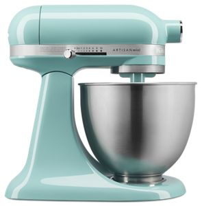 Incroyable Aqua Sky Artisan® Mini 3.5 Quart Tilt Head Stand Mixer KSM3311XAQ |  KitchenAid