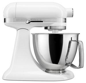 White Artisan® Mini 3.5 Quart Tilt Head Stand Mixer KSM3316XWH | KitchenAid
