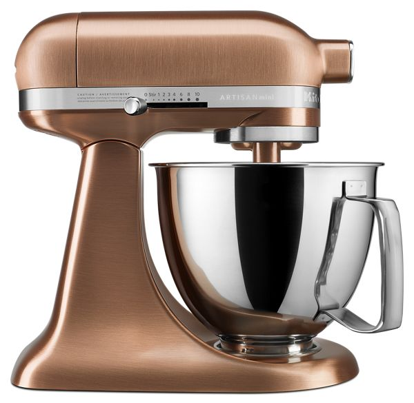 KitchenAid® Artisan® Mini Copper Clad 3.5 Quart Tilt-Head Stand Mixer