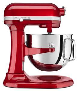 candy apple red pro line series 7 quart bowl lift stand mixer rh kitchenaid com