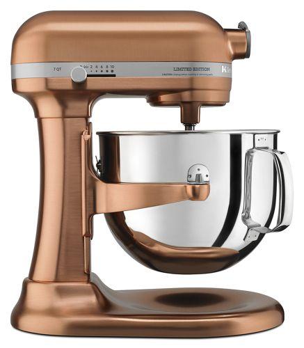 Satin Copper Limited Edition Pro Line® Series Copper Clad 7 Quart on copper keurig, copper disney, copper canisters at walmart, copper flatware,