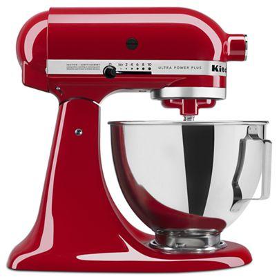 Empire Red Ultra Plus Series 4 5 Quart Tilt Head Stand Mixer Ksm96er Kitchenaid