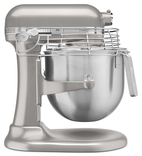 Image of KitchenAid® NSF Certified® Commercial Series 8 Quart Bowl-Lift Stand Mixer with Stainless Steel Bowl Guard