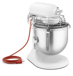 NSF Certified® Commercial Series 8 Quart Bowl-Lift Stand Mixer with Stainless Steel Bowl Guard