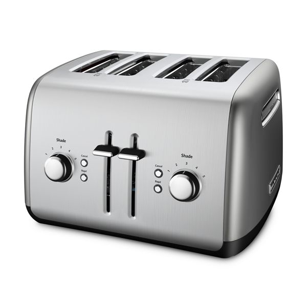 KitchenAid® Refurbished 4-Slice Toaster with Manual High-Lift Lever - RKMT4115CU