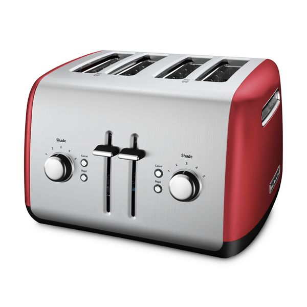 KitchenAid® Refurbished 4-Slice Toaster with Manual High-Lift Lever - RKMT4115ER
