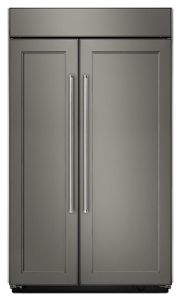 Gentil Panel Ready 25.5 Cu. Ft 42 Inch Width Built In Side By Side Refrigerator  KBSN602EPA | KitchenAid