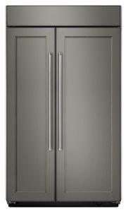 Panel Ready 30.0 Cu. Ft 48 Inch Width Built In Side By Side Refrigerator  KBSN608EPA | KitchenAid