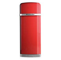 ICONIC FRIDGE EMPIRE RED