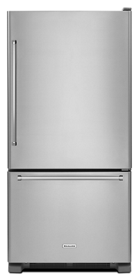 22 cu.ft. 33-Inch Width Full Depth Non Dispense Bottom Mount Refrigerator
