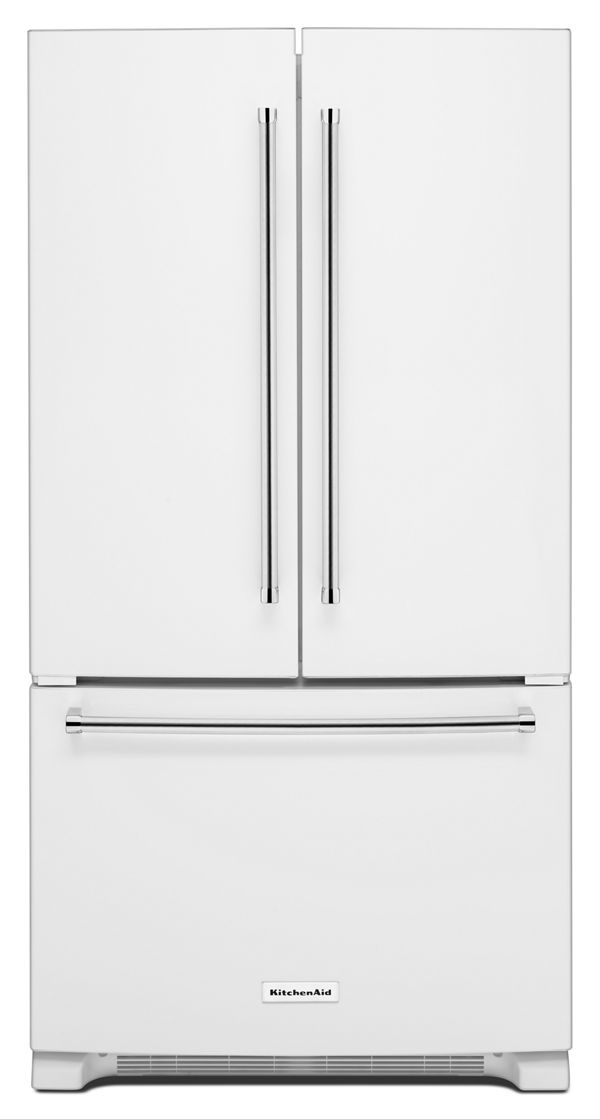 20 cu. ft. 36-Inch Width Counter-Depth French Door Refrigerator with Interior Dispense
