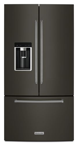 Black Stainless 238 Cu Ft 36 Counter Depth French Door Platinum