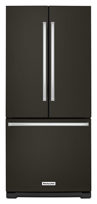 20 cu. Ft. 30-Inch Width Standard Depth French Door Refrigerator with Interior Dispense